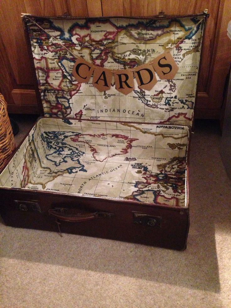 Handmade wedding card case