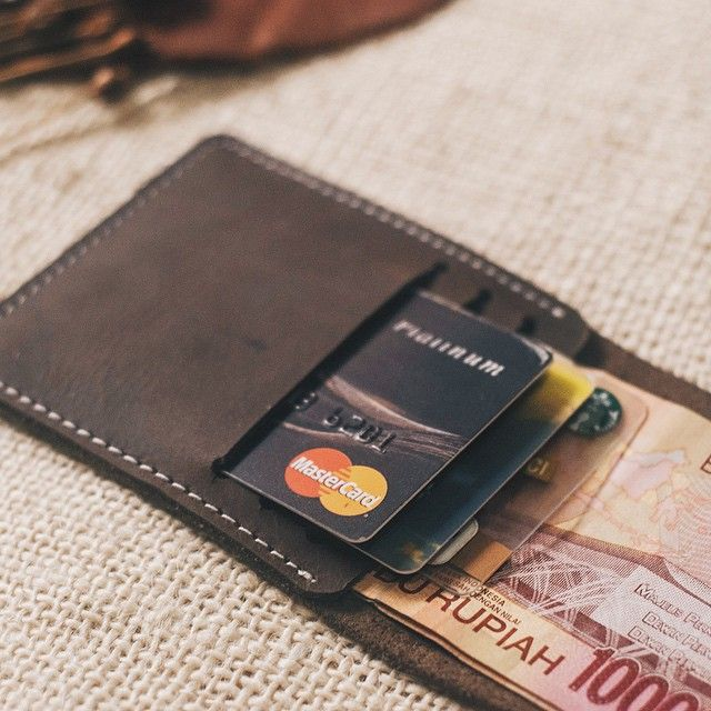 Codename Amber Leather Half Wallet The New Gemstone Collection  With 3 Card Pockets and a Bill Slot  Another take on the new Amber Leather Half Wallet