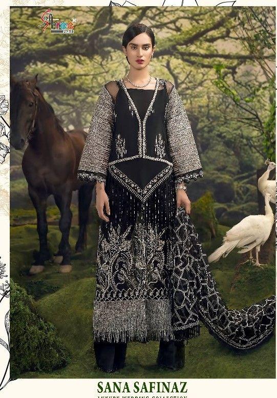 0f9264cbc0 Shree Fabs Sana Safinaz Luxury wedding Collection (5 Pc Set ...