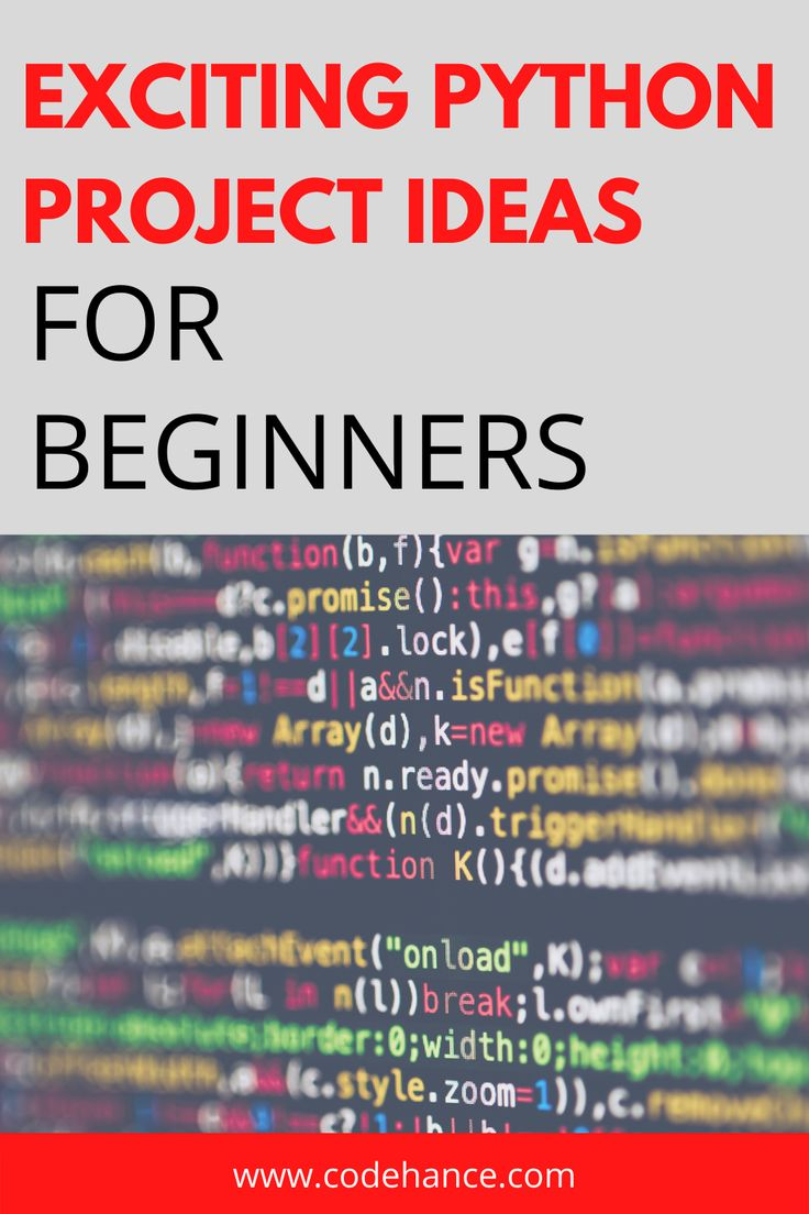 Discover best python project ideas for beginners and start