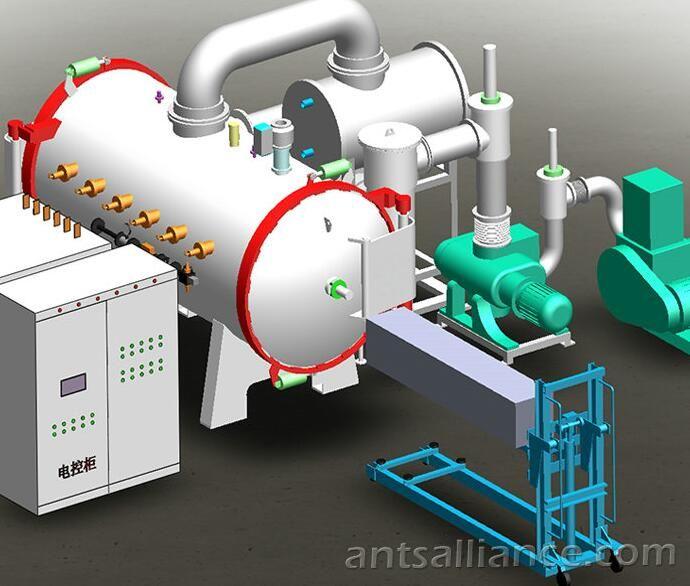 Vacuum Induction Sintering Furnace For Smelting Metal Powder