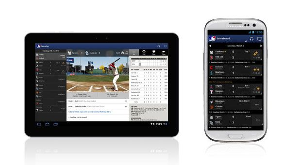 MLB At Bat 2013 app warms up for spring training, starts pitching in BB10's bullpen -  For some, the change of the season is marked not by calendars or climate changes, but by the beat of sports fandom. Rest easy, baseball fans: spring is finally here. Naturally, Major League Baseball is heralding in the weather by updating its MLB At Bat app for 2013 spring training, touting new... - http://technologycompanieslist.com/mlb-at-bat-2013-app-warms-up-for-spring-training-starts-p