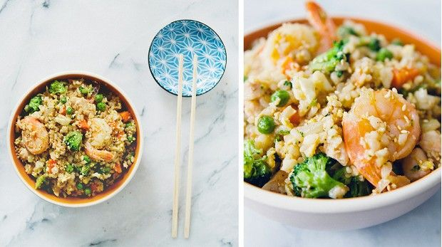 Kid-Friendly Fried Rice: Grown-ups and little ones alike will be begging for second-servings of this flavorful and easy dish from Claire Thomas of The Kitchy Kitchen. via @mydomaine