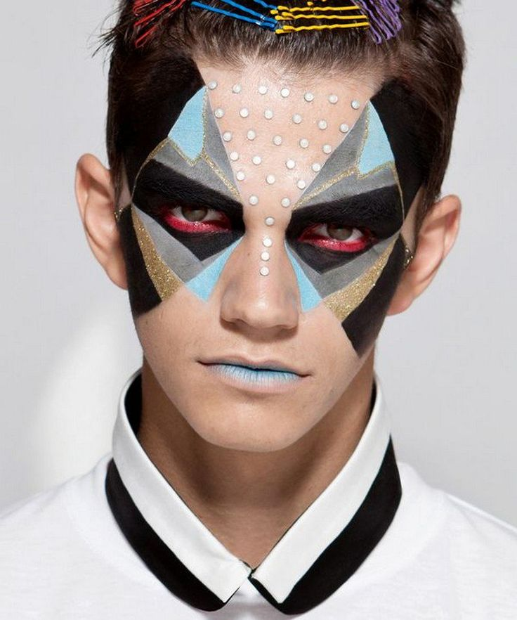 Maquillage halloween homme 2017 quelques id es - Maquillage carnaval homme ...
