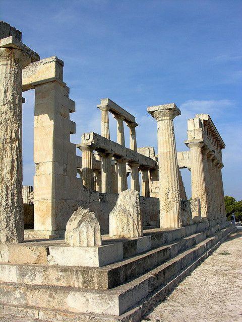 Temple of Aphaia Aegina, Greece