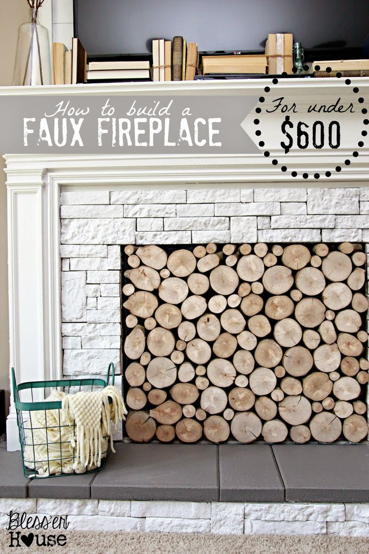71 best Faux Fireplaces images on Pinterest | Fireplace ideas ...