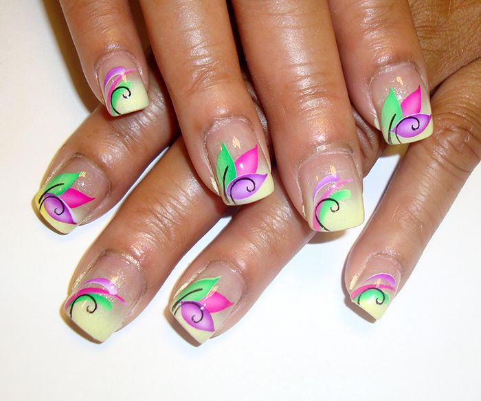 Best 25 airbrush nail art ideas on pinterest 3d nails art airbrush nail art prinsesfo Gallery
