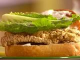 Picture of Crunchy Catfish Sandwich Recipe:  Pinner Note... I use Sunny's recipe for just fried catfish/any fish fillets not just the sandwhich. SO GOOD.