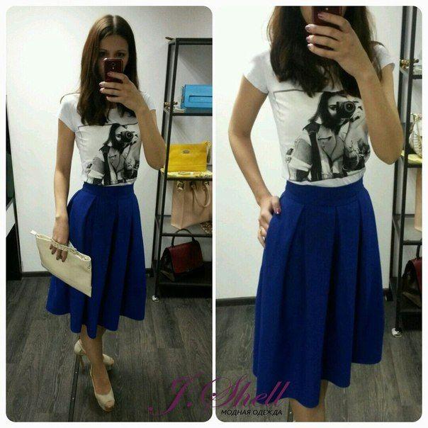 Заказать пошив такой юбки можно в ателье J.Shell в СПб.