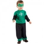 Green Lantern Infant and Toddler Hal Jordan Halloween Costumes