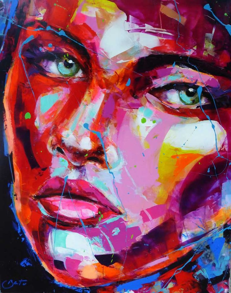 Peintre portraitiste contemporain Berto 16 best Artist