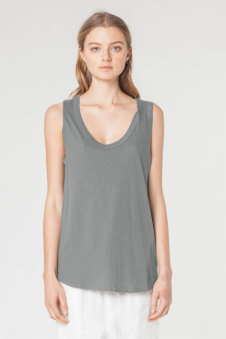 Assembly Label - Costal Linen Singlet