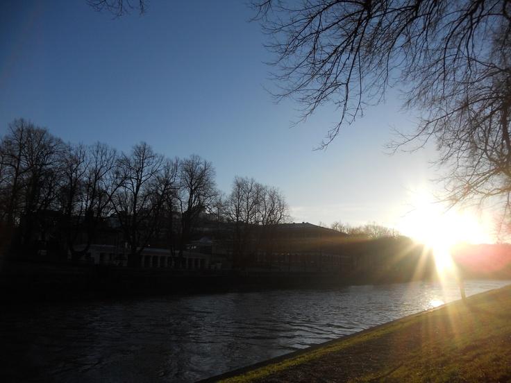 Winter sun, Turku, Finland