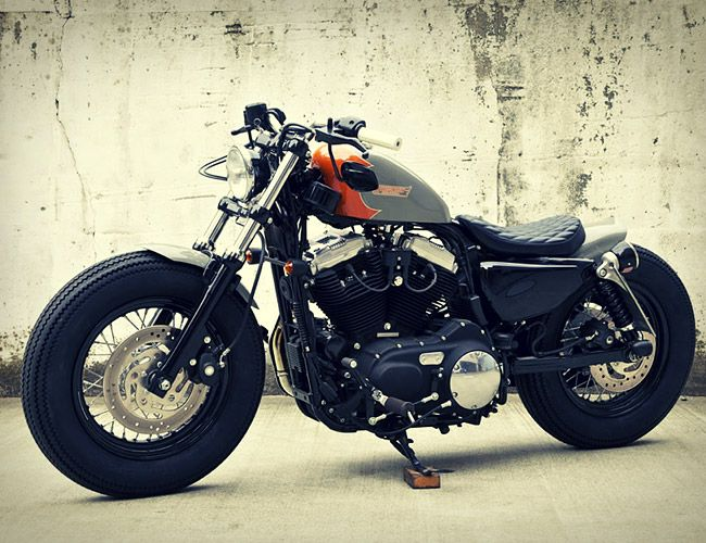 Hidemo Custom Sportster....a Harley I would actually ride.