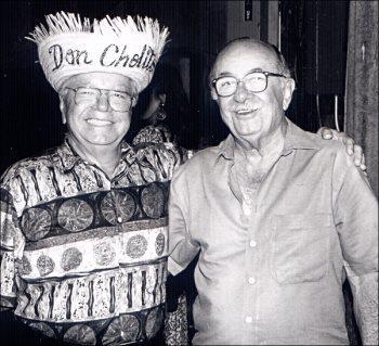 Don Tommy Muniz Don Jose Miguel Agrelot,  glorias de Puerto Rico