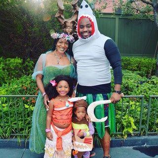 Moana family cosplay : pics