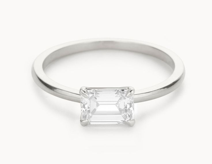 25 best ideas about emerald cut rings on pinterest emerald cut engagement rings emerald cut and emerald cut engagement - Small Wedding Rings