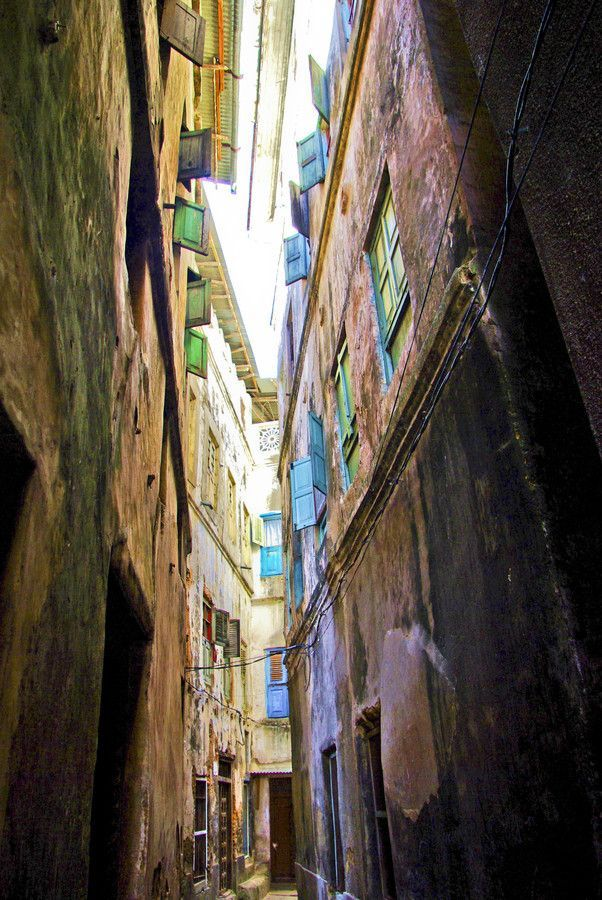 An Alleyway in the heart of Stone Town, Zanzibar. Photo by Tanner Short.