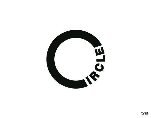 #Circle #logo #verbicon
