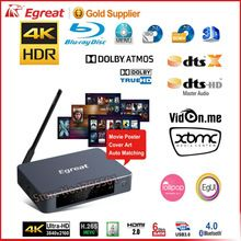 2017 SKF Egreat A5 Smart Android TV Box 3D 4K UHD Media Player with HDR USB3.0 Suppot SATA OTA Blu-ray Disc Dolby Ture HD DTS-HD
