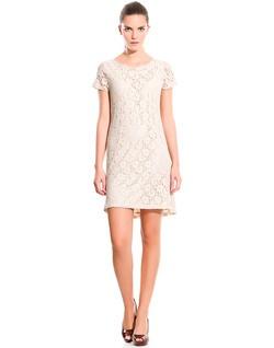 Vestido de encaje #vestidos #cortefiel #cortefiel.com