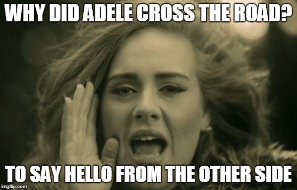 Adele hello meme - Google Search