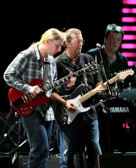 Blues with Eric Clapton and Derek Trucks