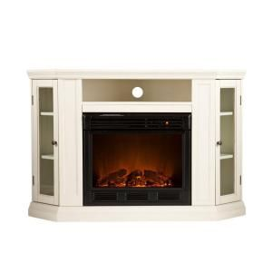 media console electric fireplace in at the home depot