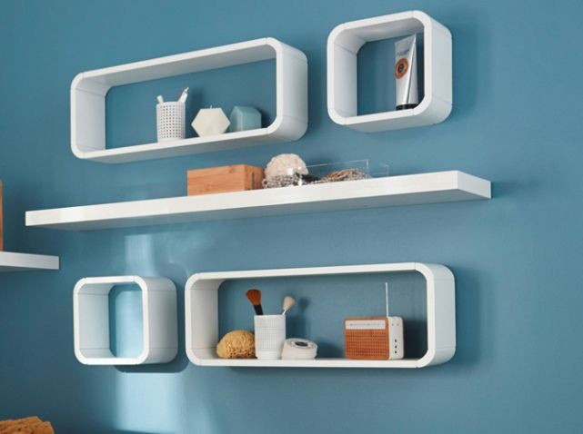 17 meilleures id es propos de salle de bains rangement mural sur pinterest tag res de. Black Bedroom Furniture Sets. Home Design Ideas