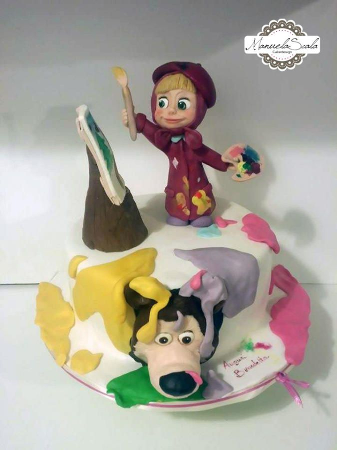 Masha - Cake by manuela scala
