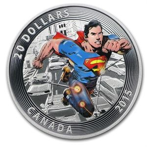 Call (800) 375-9006 or order online. APMEX offers 2015 Canada Silver Iconic Superman™ Comic Book Covers (#1) at competitive Silver prices. Shop our large selection of Art & Historical Figure Themed Commemoratives today.