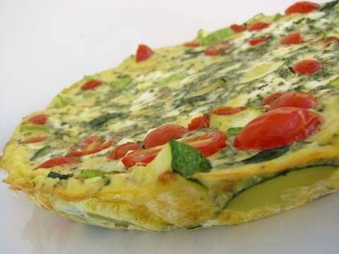 Clean & Delicious with Dani Spies » Summer Squash Frittata (Video)