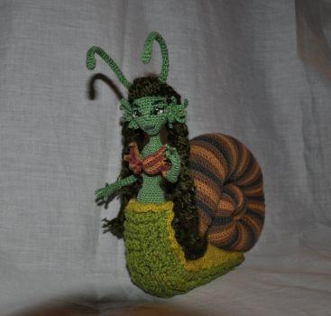 Doll amigurumi Snail (9) by Faurik