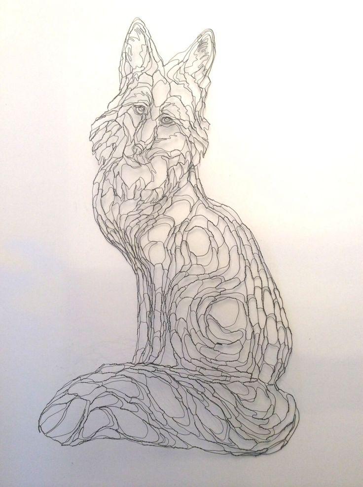 15 best elizabeth berrien images on Pinterest | Wire sculptures ...