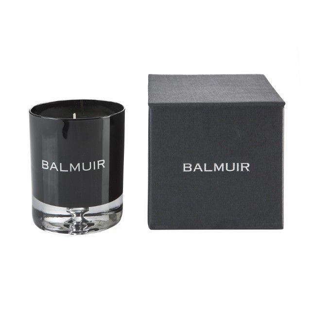 Como scented candle in gift box, black