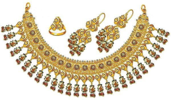 Pakistani Gold Jewellery for Teens and Women