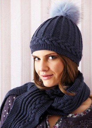 Комлект: шарф и шапка. Обсуждение на LiveInternet - Российский Сервис Онлайн-Дневников