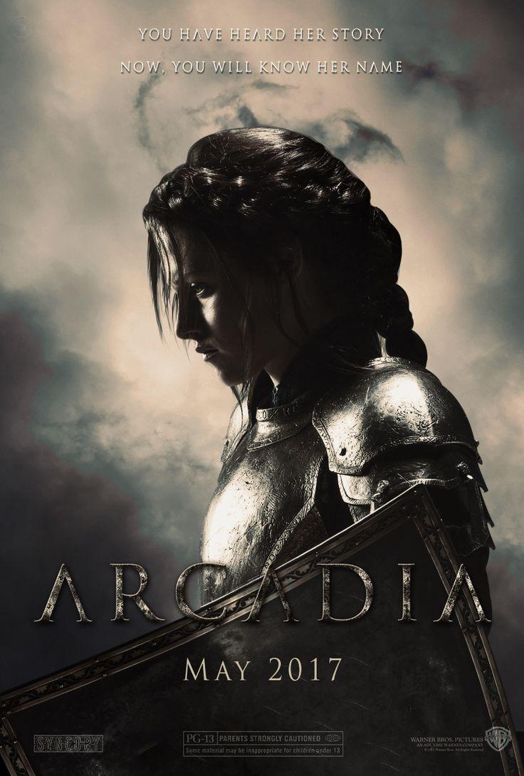 Arcadia (Joan Of Arc) Movie Poster by Shervell.deviantart.com on @DeviantArt