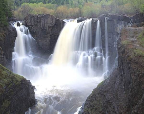 Tallest waterfall in MN: High Falls, Pigeon River. Must visit all the others too!