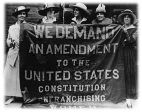 19th amendment.