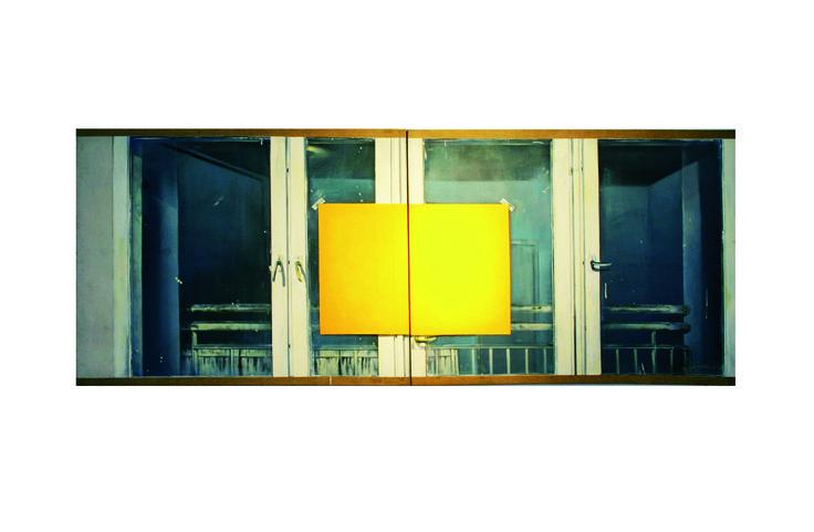 Bogdan Wojtasiak, 130x340, 1981, oil on canvas