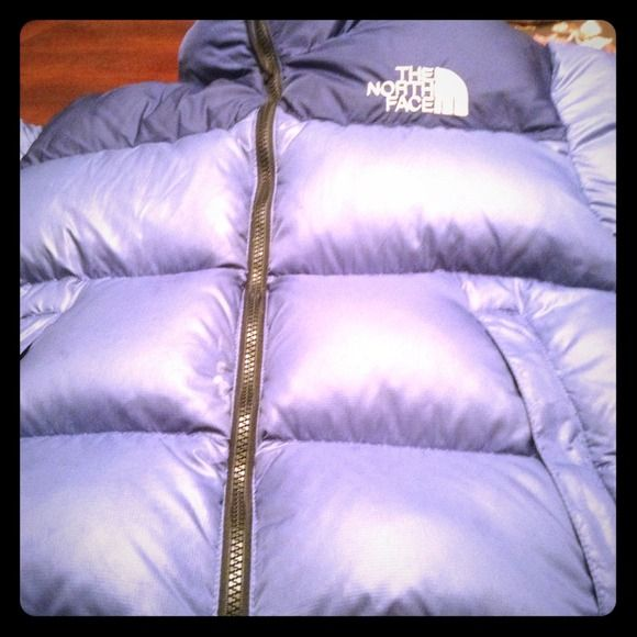 North Face Down jacket....Ladies small Super super warm and CUTE!! Worn a handful of times i just unfortunately grew out of it! The North Face Jackets & Coats