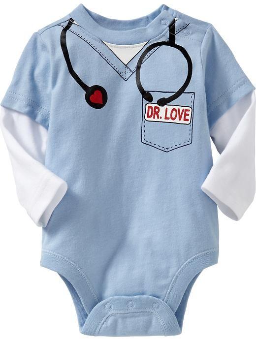 Dr. Love Baby Onesie