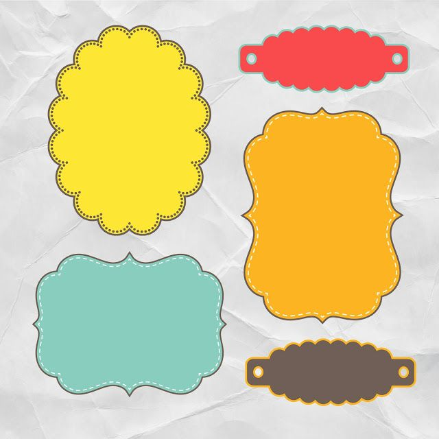 Free Printable Journal Tags Perfect For Scrapbooking And Card