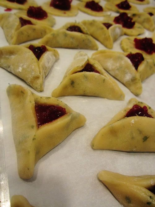 Cranberry-Sage Hamantashen - Kosher Recipes & Cooking