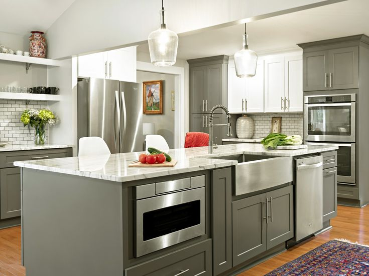 37 best Two-Toned Kitchen Cabinets images on Pinterest | Dressers ...
