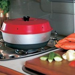 Using an Omnia Stove Top Oven