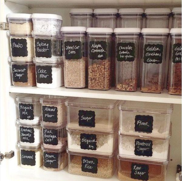 Kitchen Organization Where To Put Everything: Best 25+ Flour Storage Ideas On Pinterest