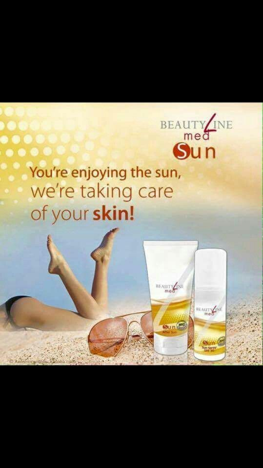 Enjoy the sun with beautyline!