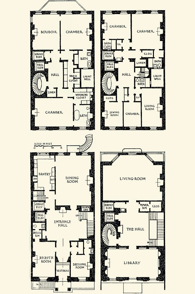 444 best Floor Plans images on Pinterest Floor plans, Vintage - new blueprint plan company